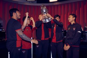 The Bombers lift the OPL trophy as Split 1 2019 champions